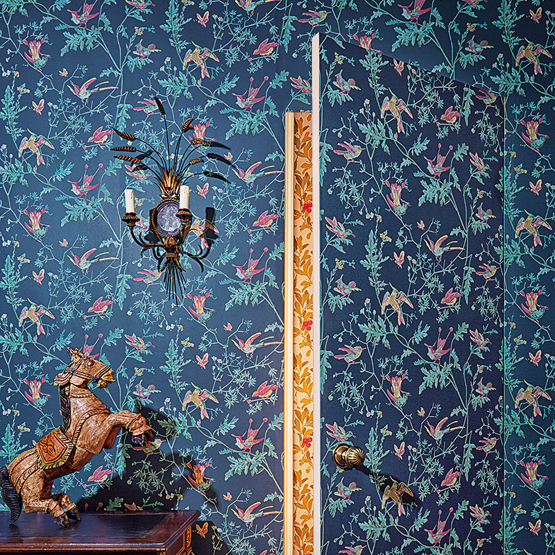 Hummingbird Wallpaper by  Cole and Son