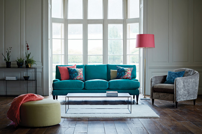 Poppy Sofa and George armchair from  The Lounge Co.
