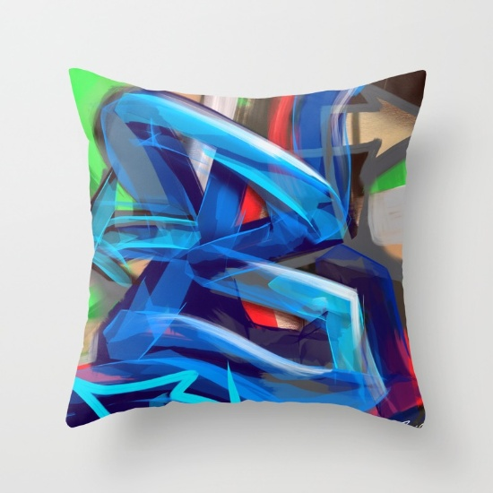 B is for Bamm cushion £14  Society 6