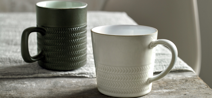 Natural Canvas  mugs by Denby