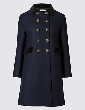 Templar Coat  £99 Archive by Alexa at Marks and Spencer