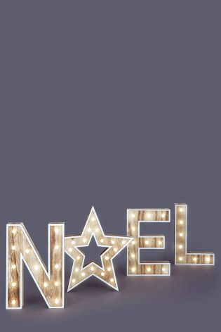 Noel letters £60  www.next.co.uk