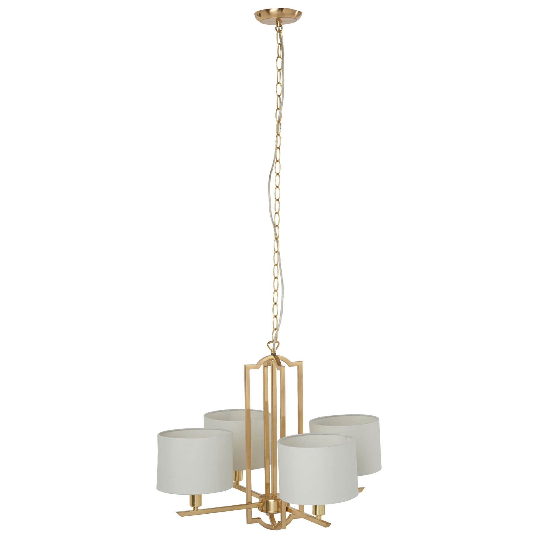 Stella 4 light chandelier £125 Marks and Spencer SS17