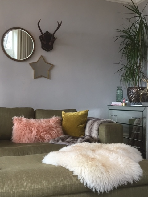 My winter room update featuring star mirror £80 by  Cox and Cox