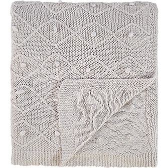 Grey bobble Paoletti throw £39.99  TK Maxx