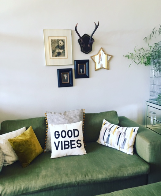 Good Vibes cushion £35  www.urbanoutfitters.com