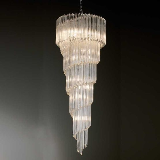 Antique sprial drop chandelier £2,778  www.andythorntons.co.uk