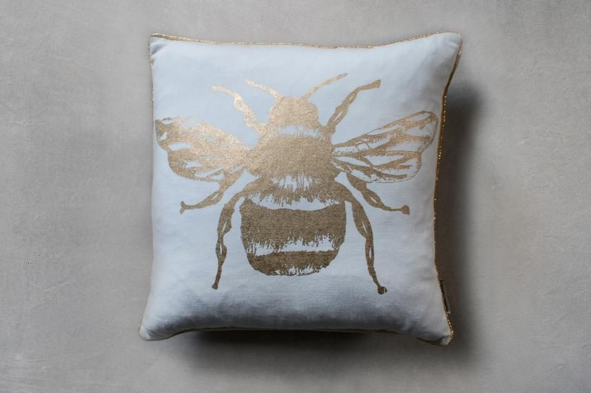 Gold bumble bee cushion.jpg