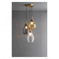 Cinders  trio pendant light £180