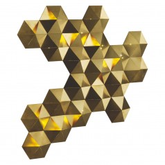Tesselate  decorative LED wall light £275