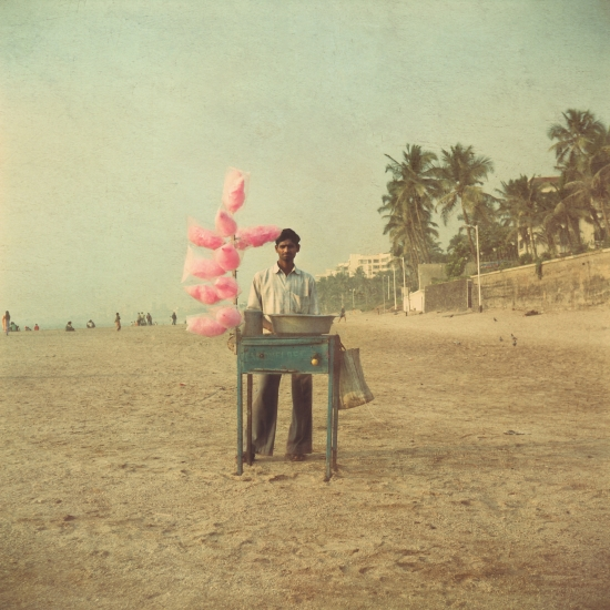 Candy Floss Beach by Nadia Attura from  www.riseart.com