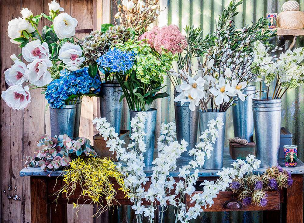 Faux flower shops are cropping up all over the internet,  Graham and Green's  selection is hard to beat.