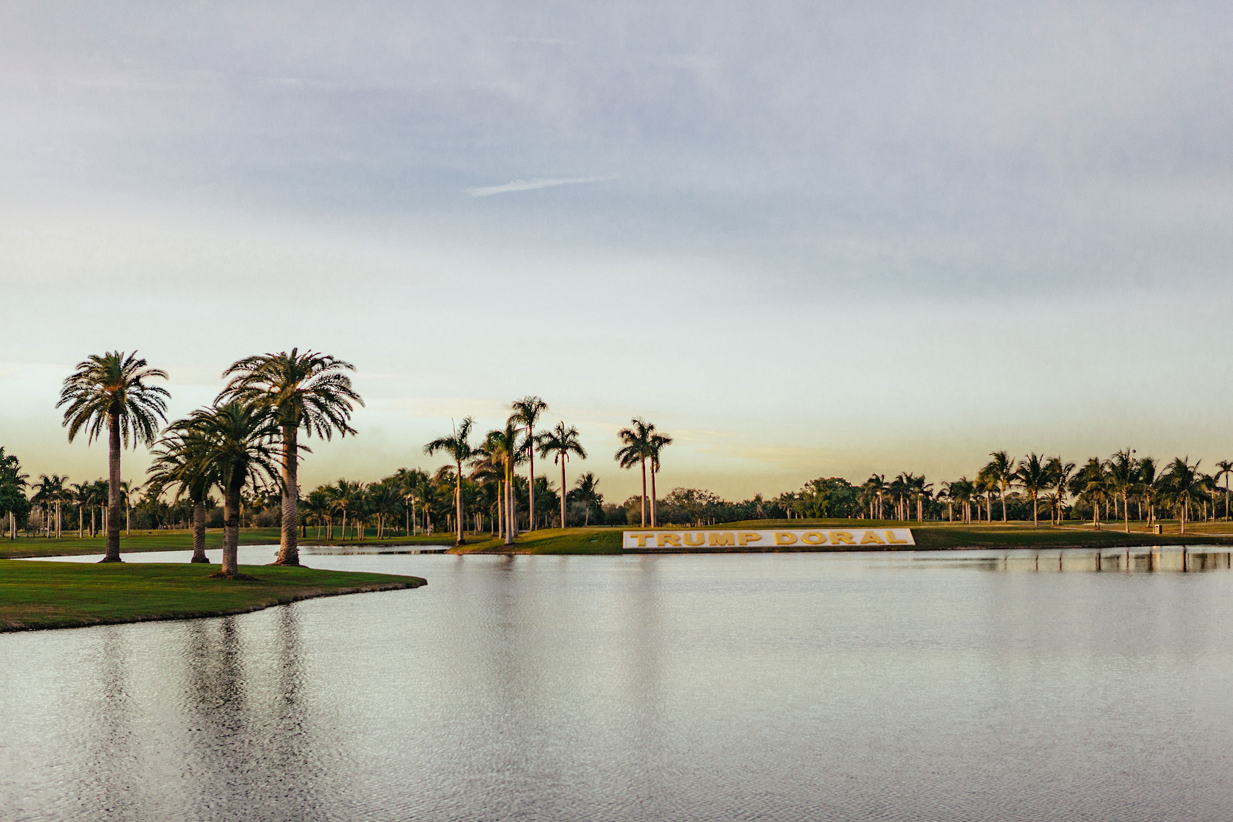 TRUMP GOLF - DORAL, MIAMI, USA