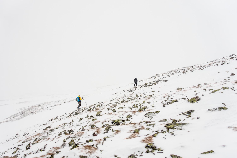 Time for next peak:Søre Sølen.