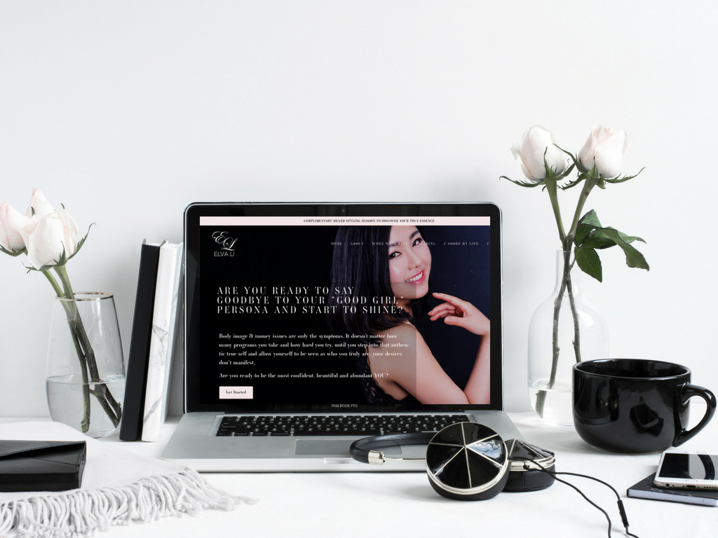 Elva Li - Branding & Website Design