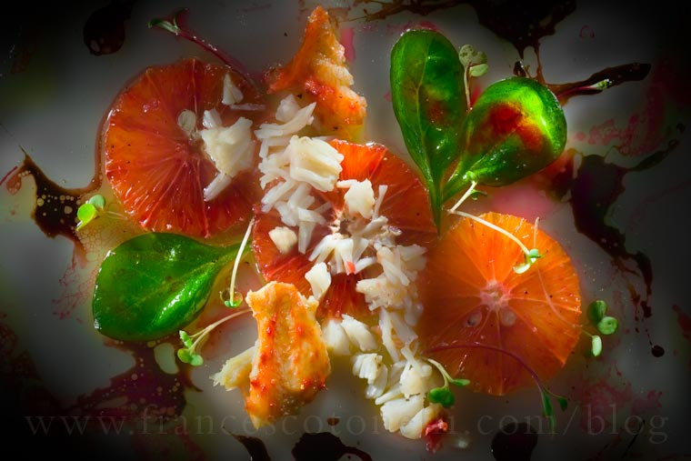 Orange & Crab Salad
