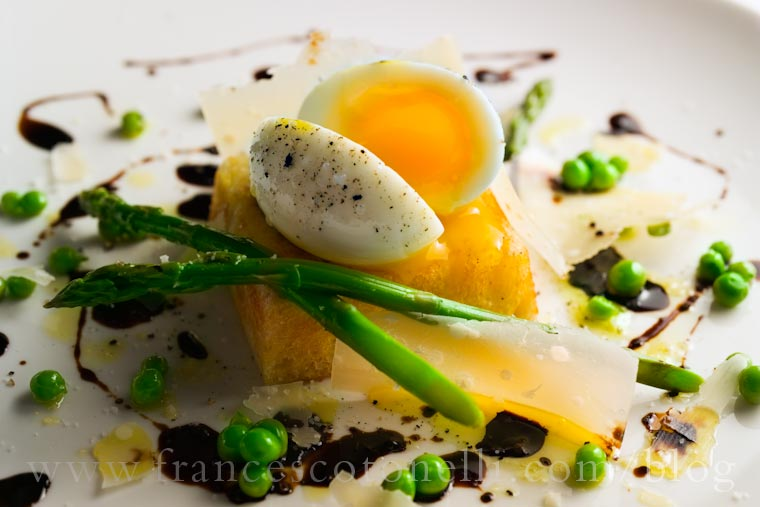 Soft Boiled Egg with Asparagus