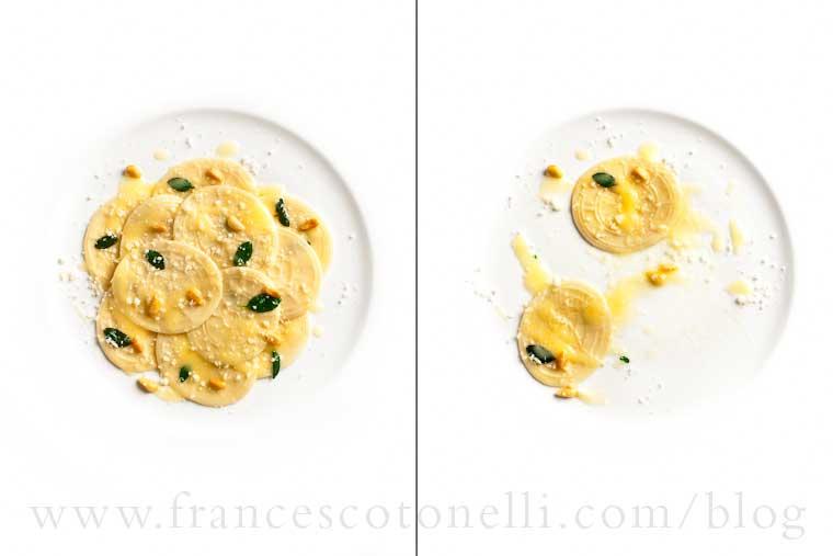 Corzetti alla Maggiorana e Pinoli