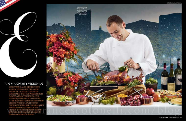 Thanksgiving with Daniel Humm