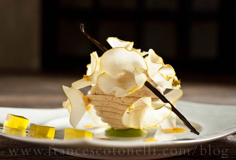 Hazelnut Meringue Dome