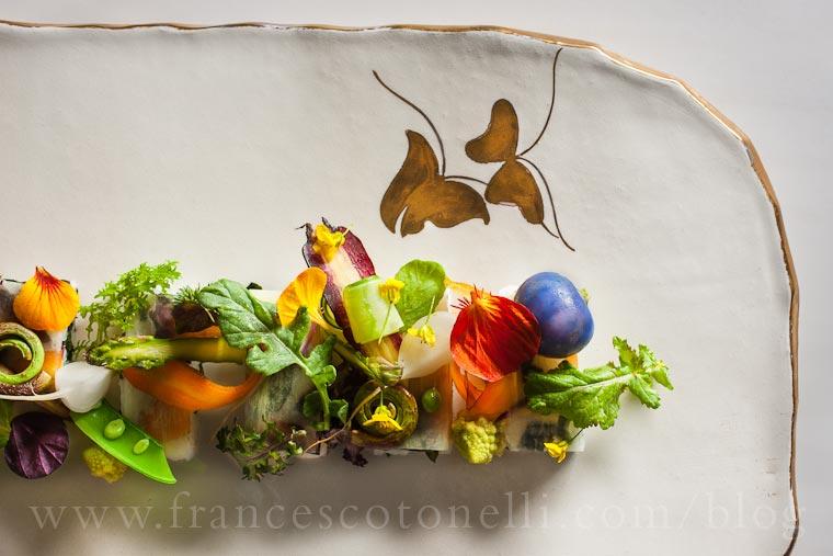 Vegetable Pressed Sushi