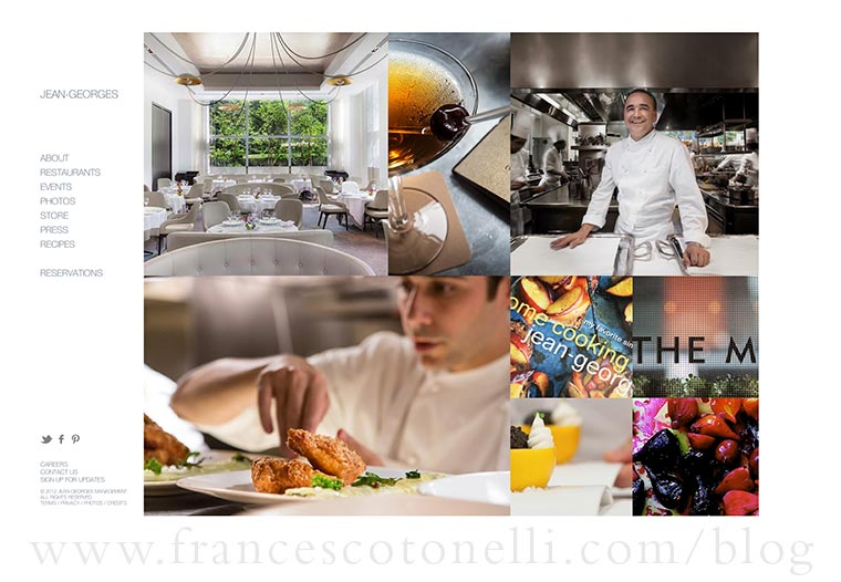 Jean-Georges Website