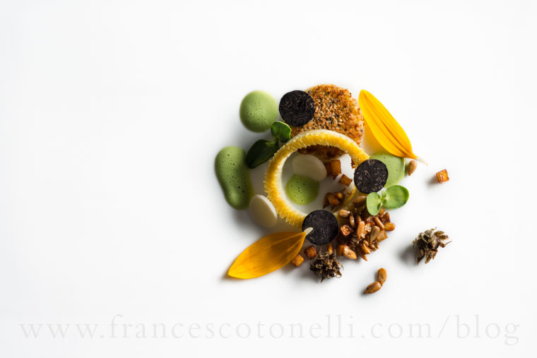 Sunflower with Sunchokes and Truffle