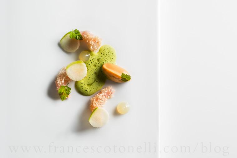 Sea Urchin Gel with Sweet Maine Shrimp