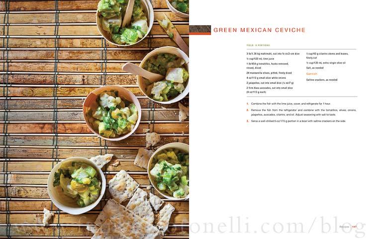 CIA Green Mexican Ceviche