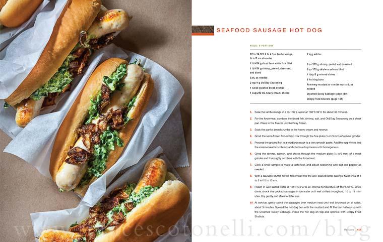 CIA Sausage Hot Dog