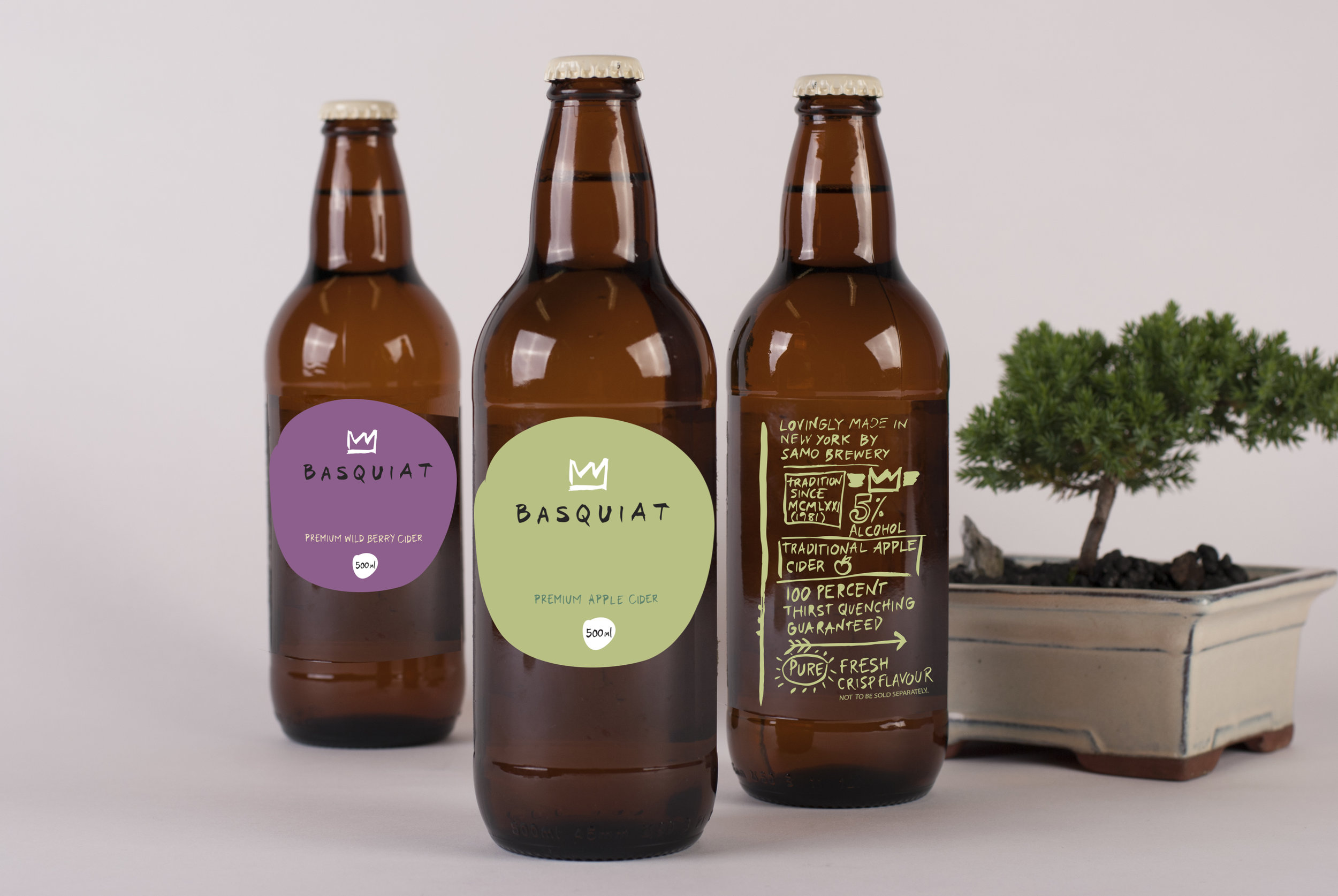 Mockup of labels on the cider bottles I bought from Aldi lol