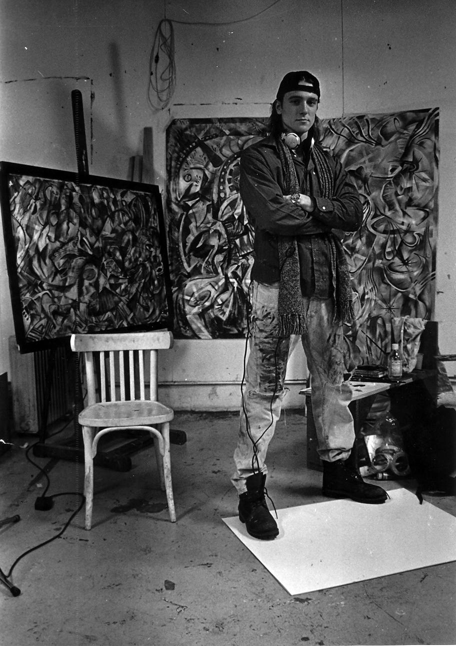 PARIS, France studio circa 2000