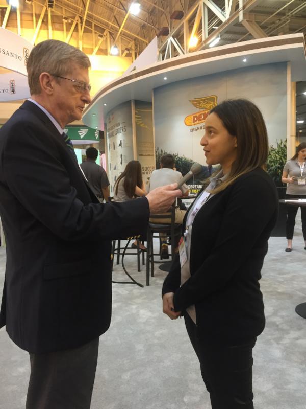 Don Molino interviews Miriam Paris of Monsanto.