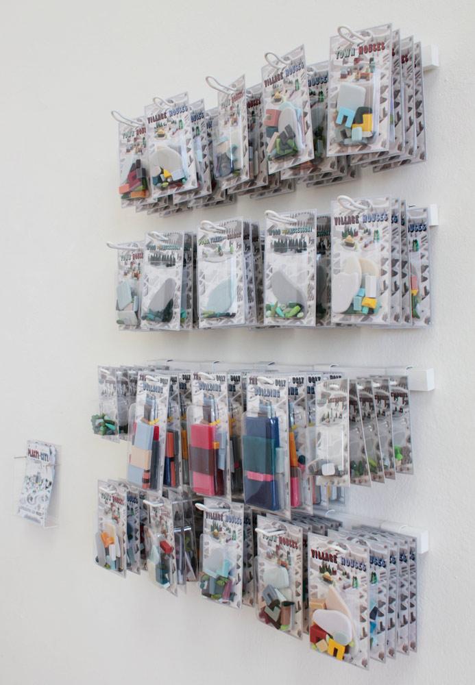 Plasti-City Sets (Exhibition View)