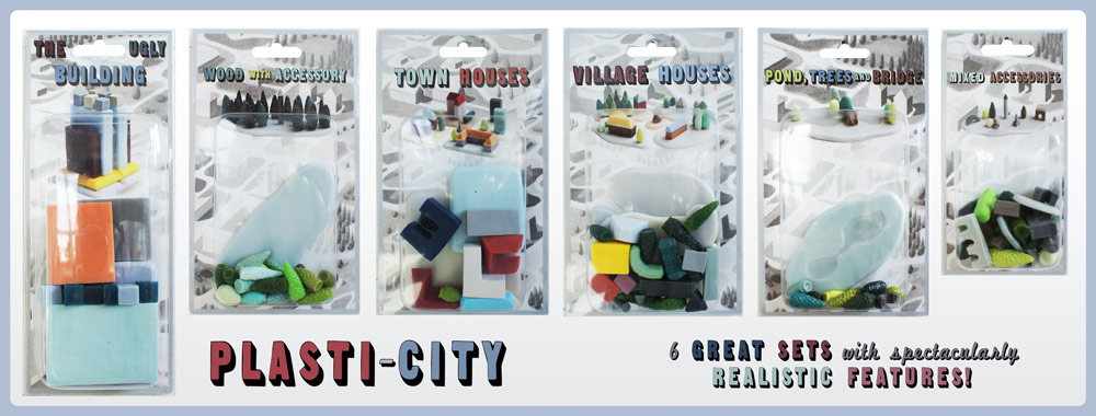 Plasti-City Sets