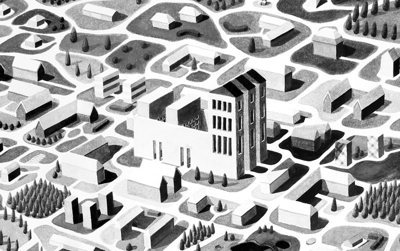 Town (detail)
