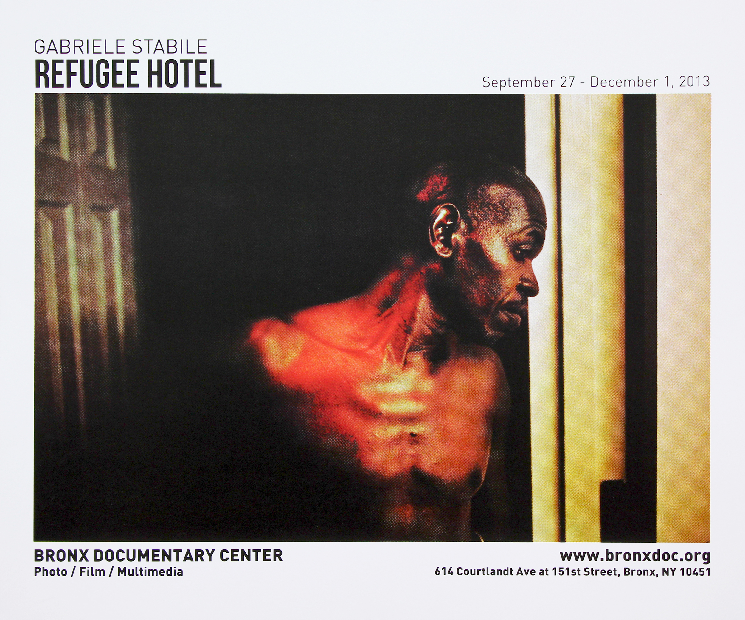 Bronx Doc Center - Gabriele Stabile //  Refugee Hotel