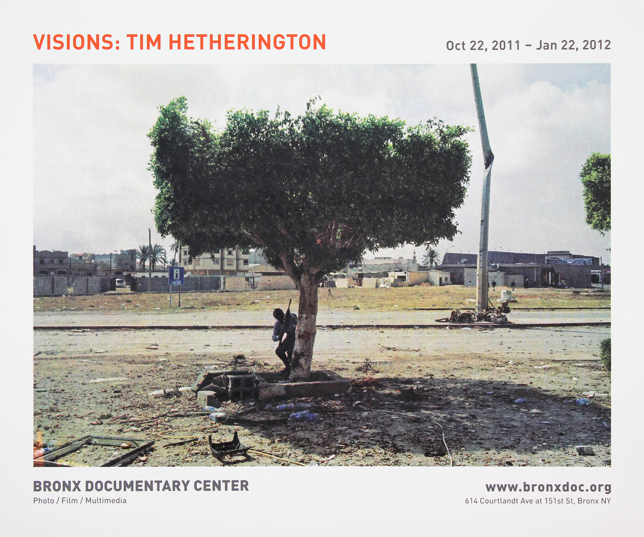 Bronx Doc Center - Visions: Tim Hetherington
