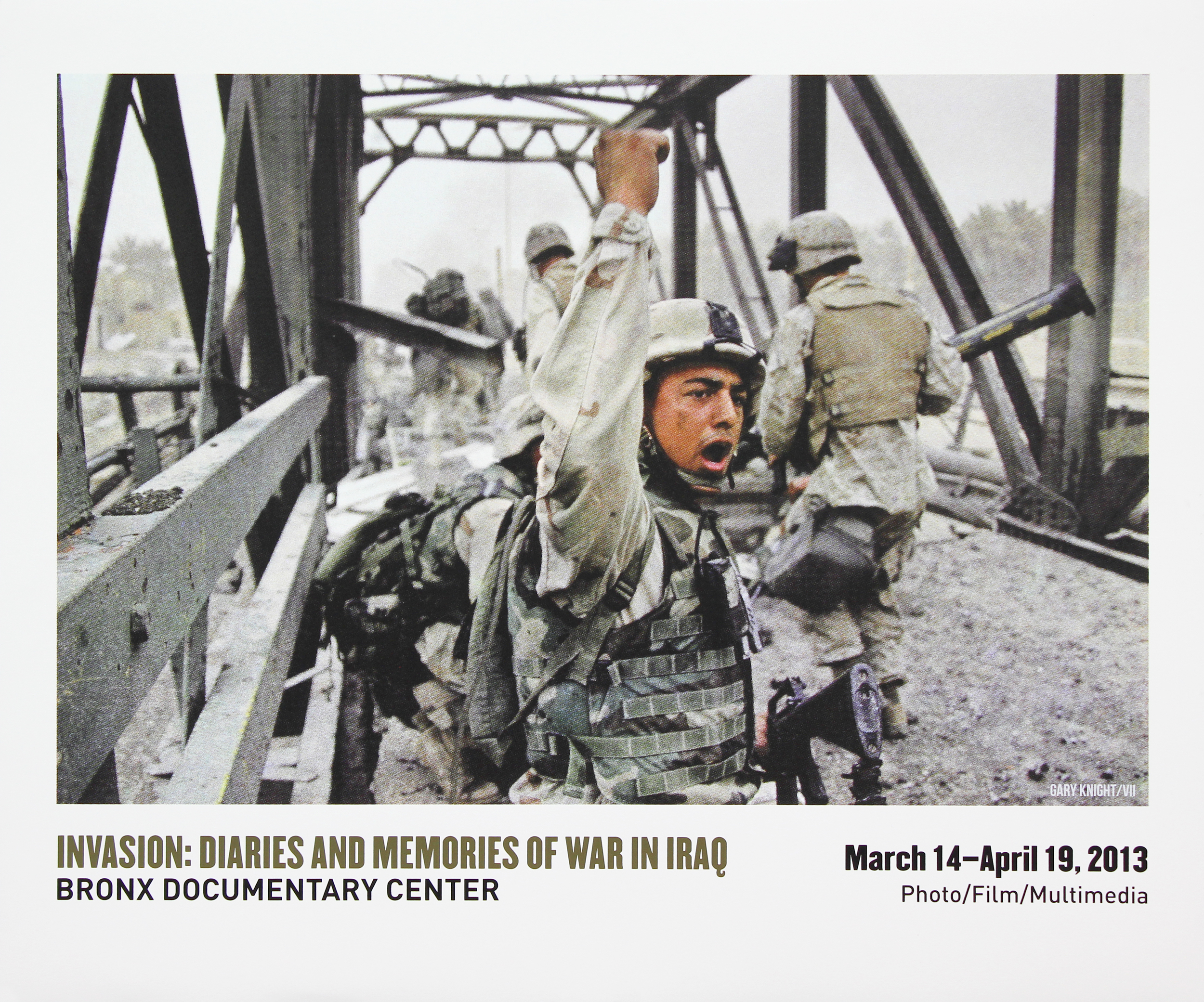 Bronx Doc Center - Invasion: Diaries and Memories of War in Iraq