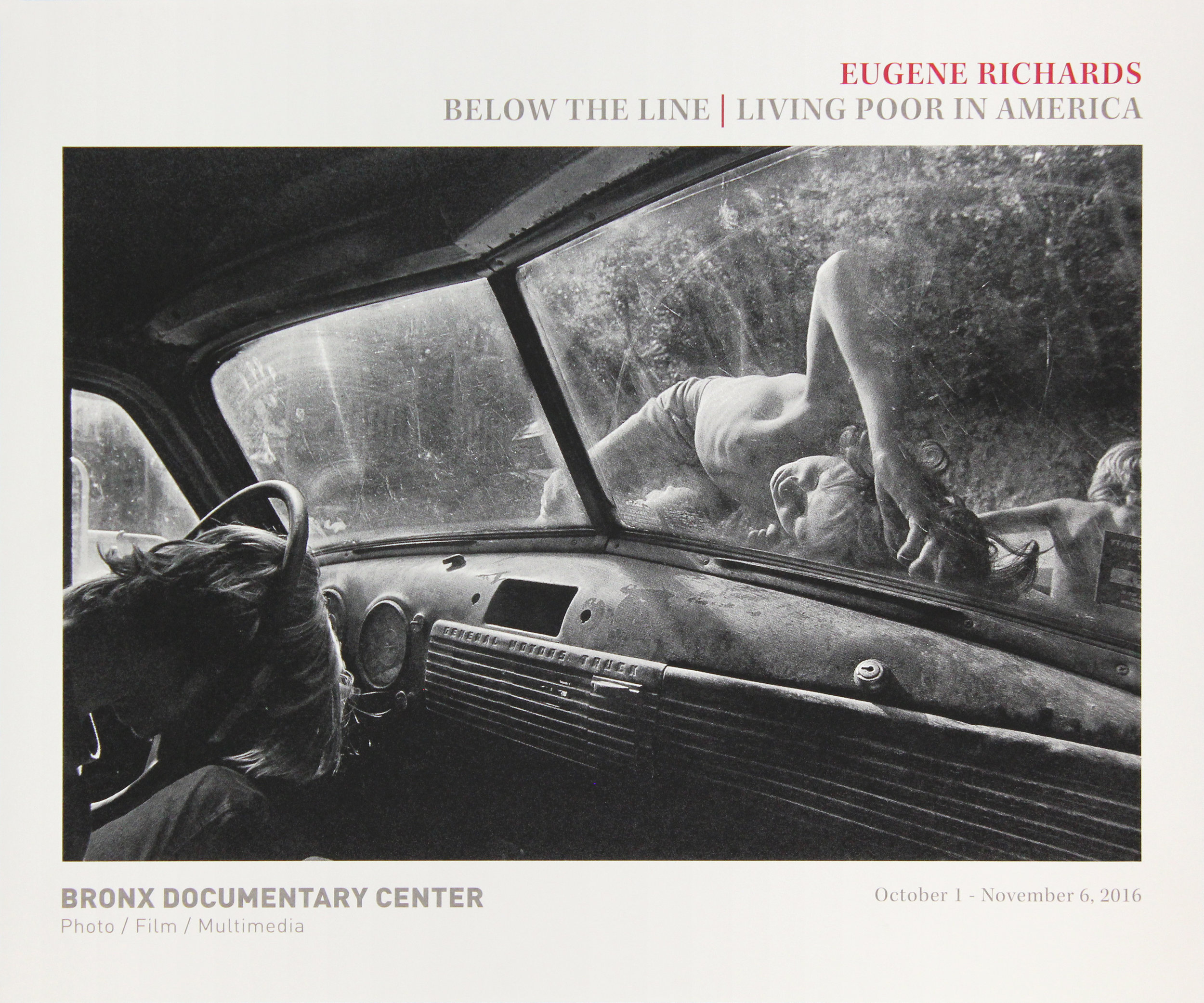Bronx Doc Center - Eugene Richards // Below the Line: Living Poor in America