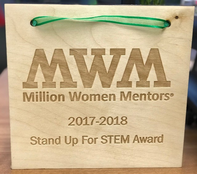 MWM-TX Stand Up for STEM Award
