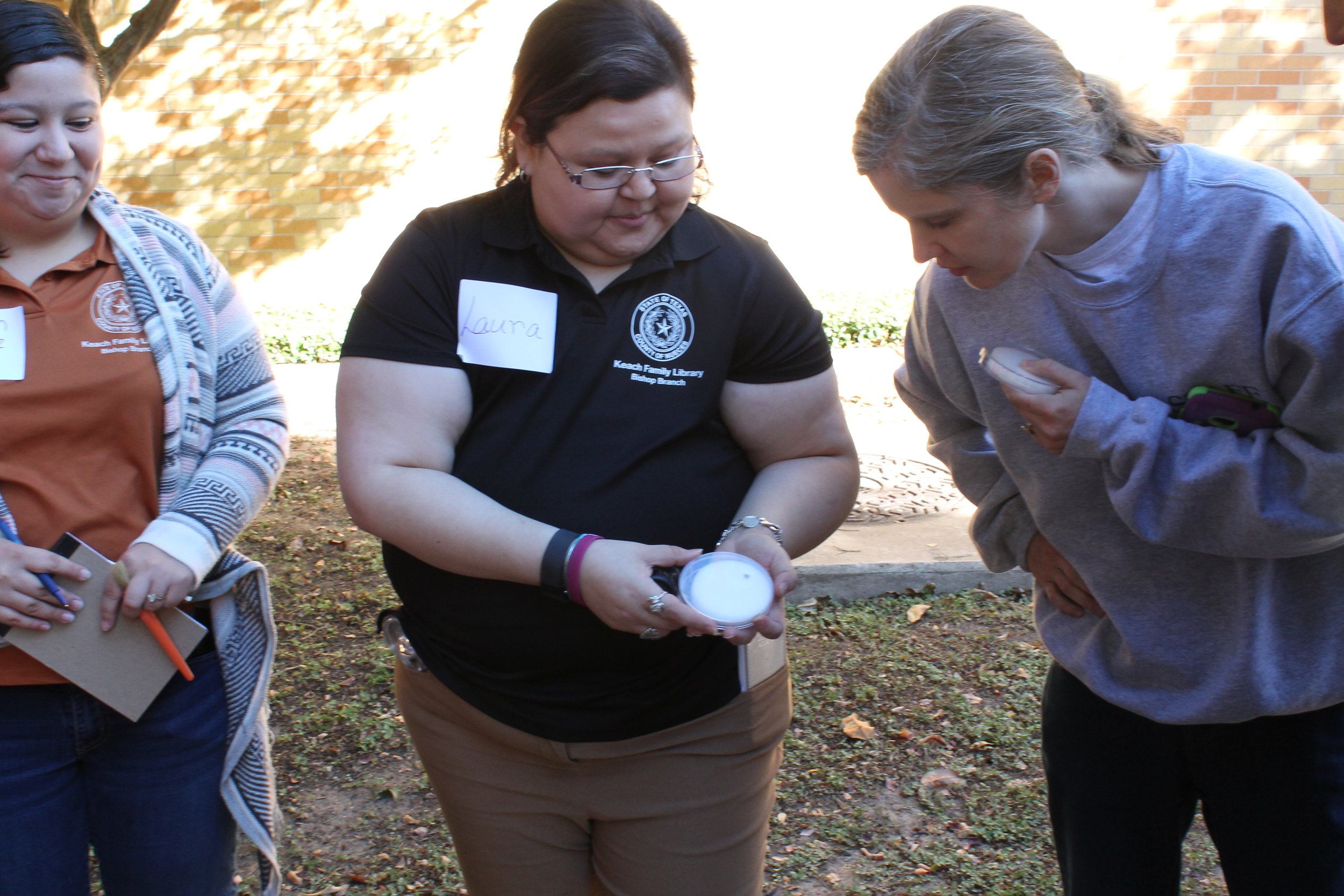 Educator participating in Science Action Club Training