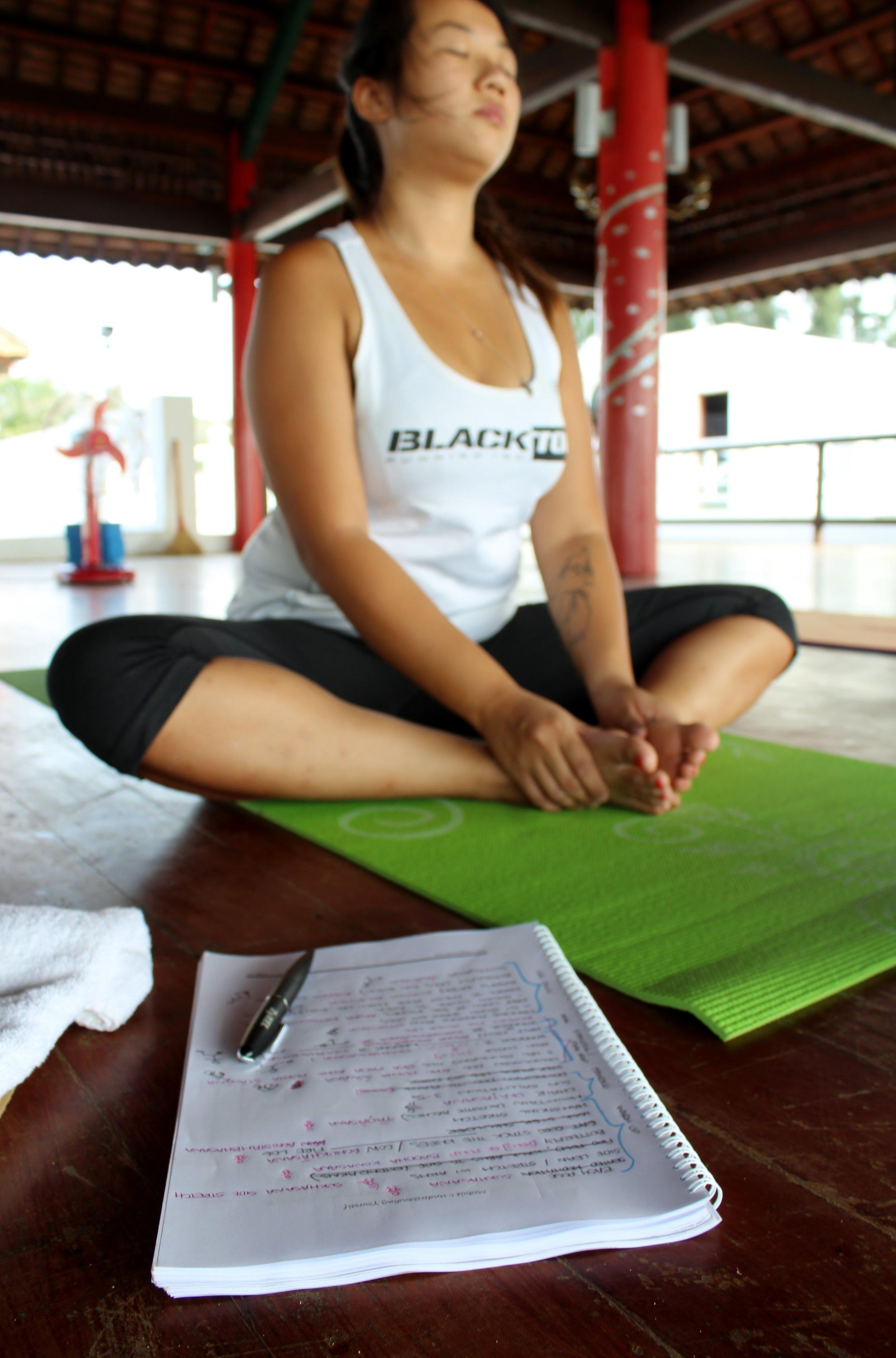 yoga mindfulness teach training
