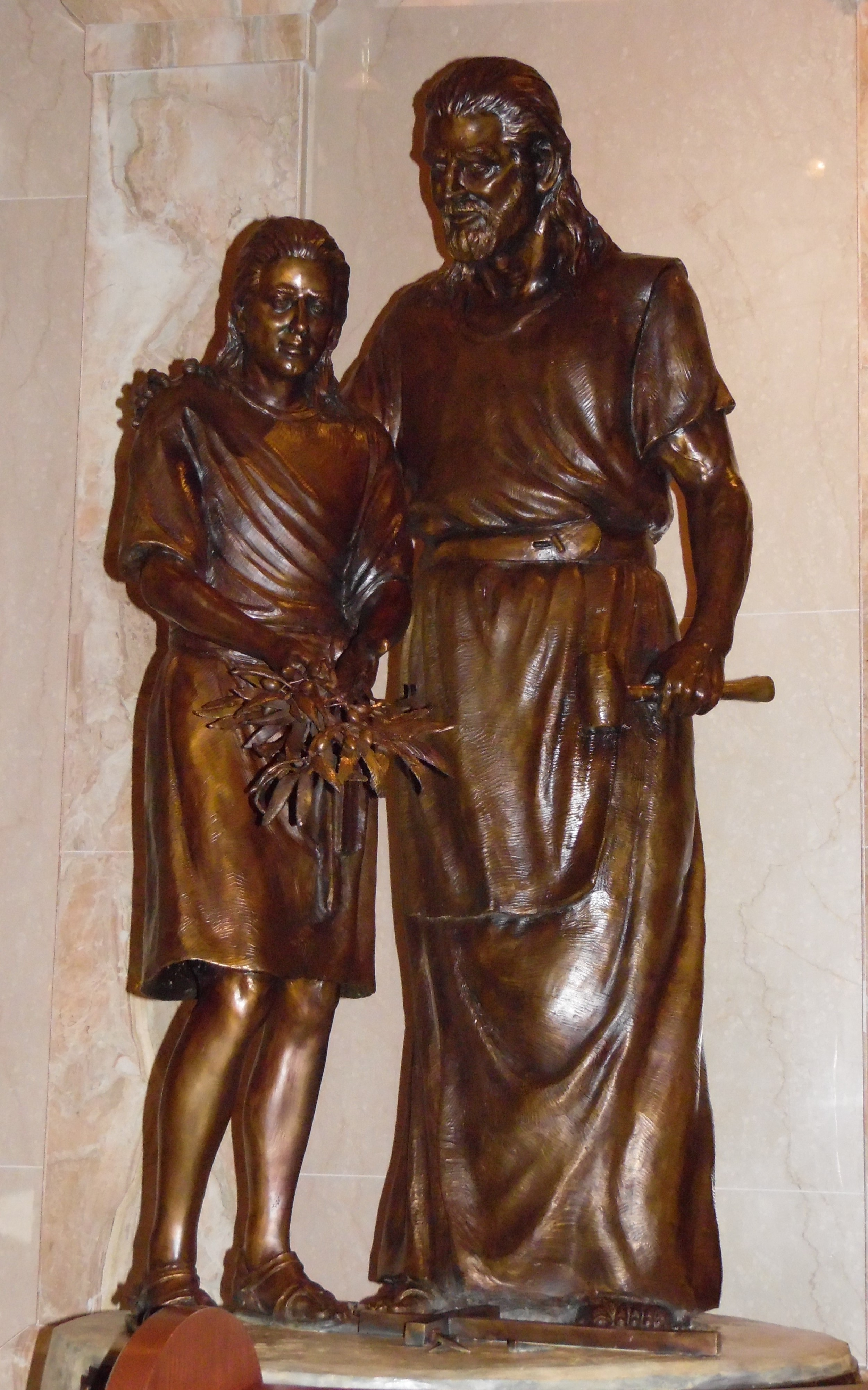 """""""Saint Joseph and the Young Christ"""" (2010)"""