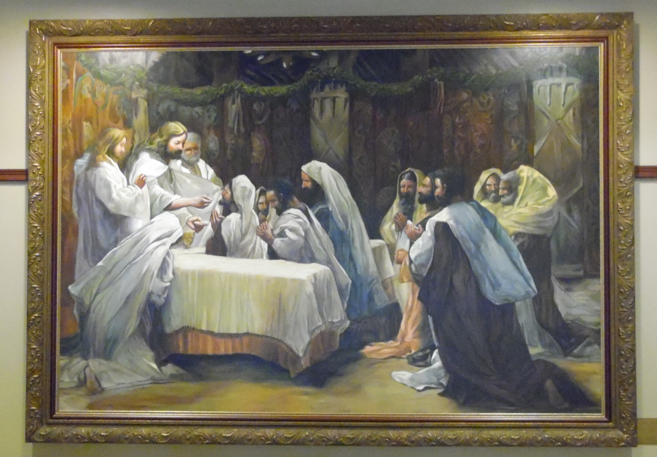 """""""The Communion of the Apostles"""" (CA. 1890)"""