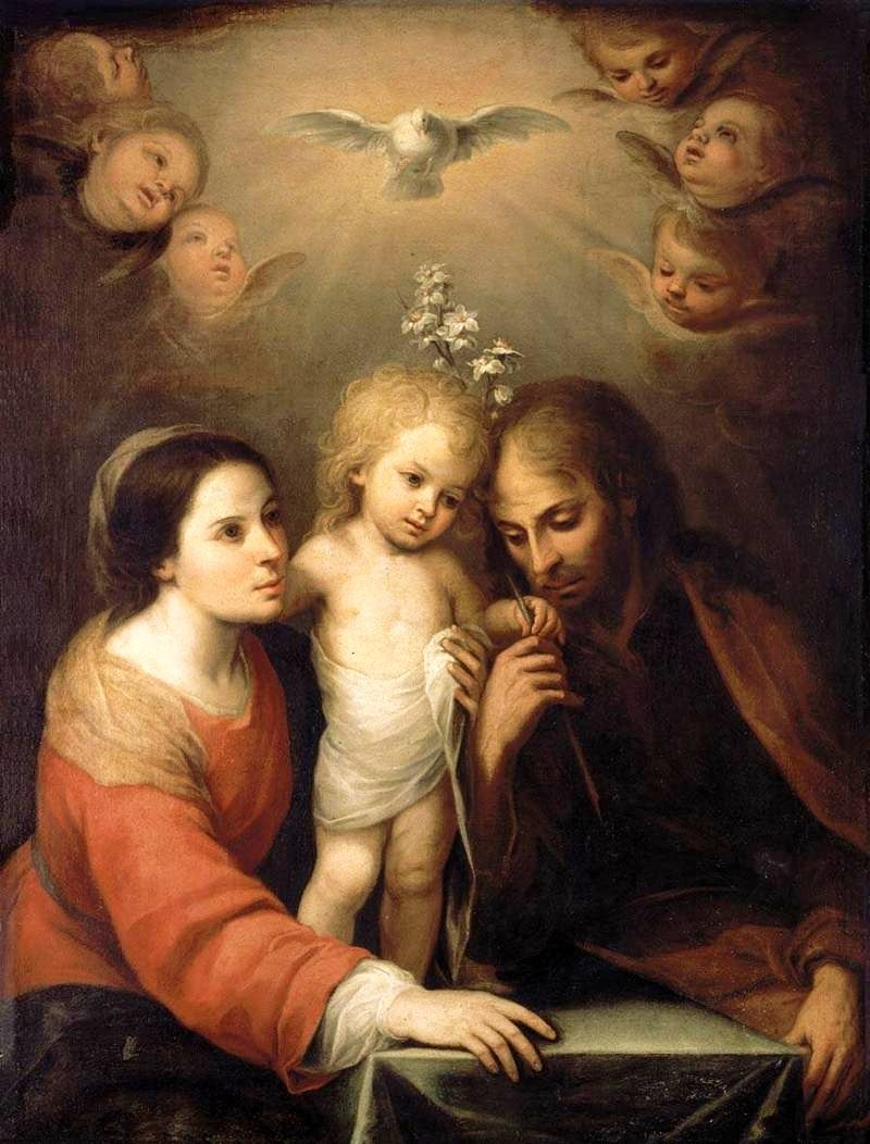 Holy Family by Gutierrez