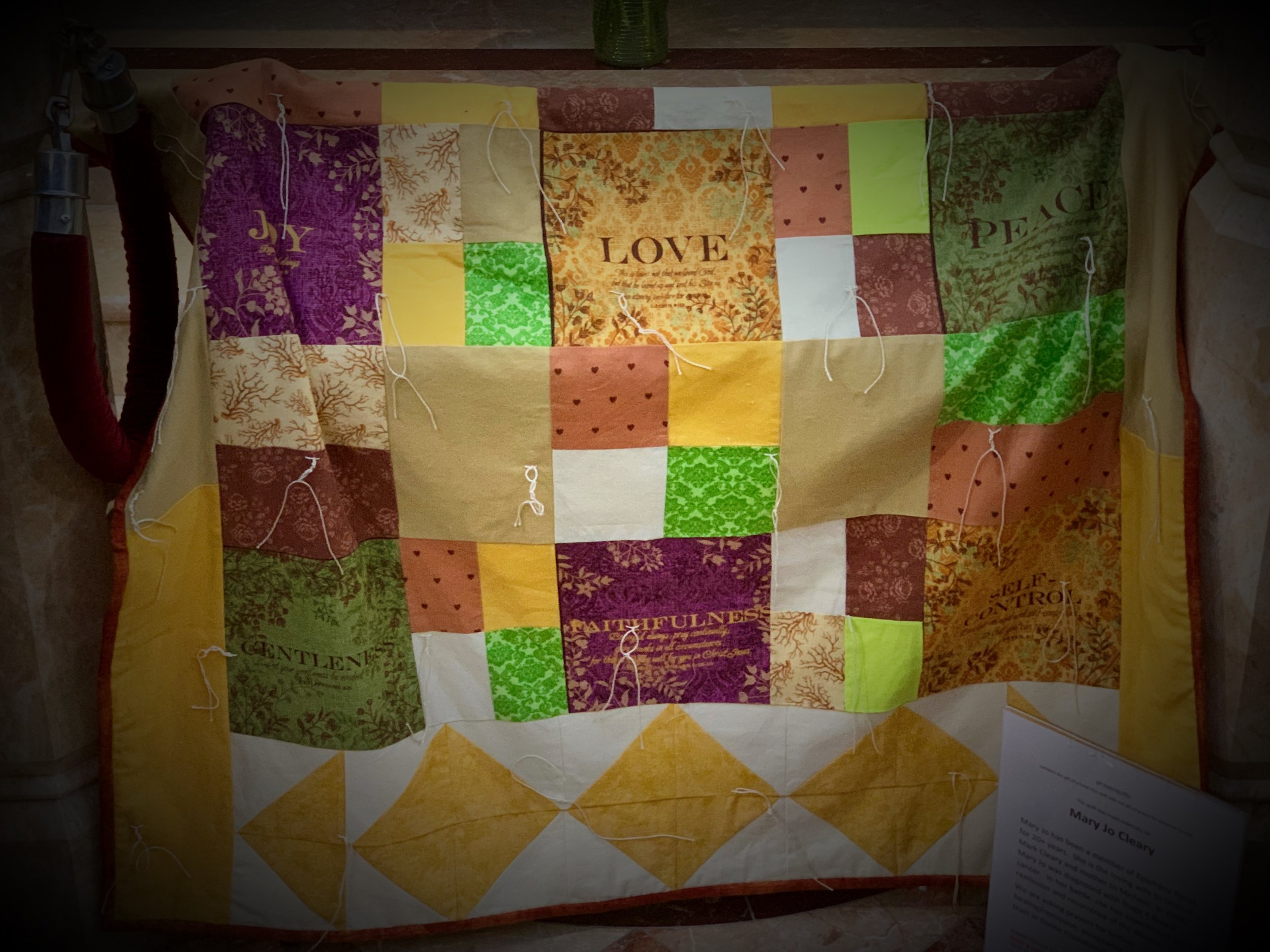 1st Prayer Quilt