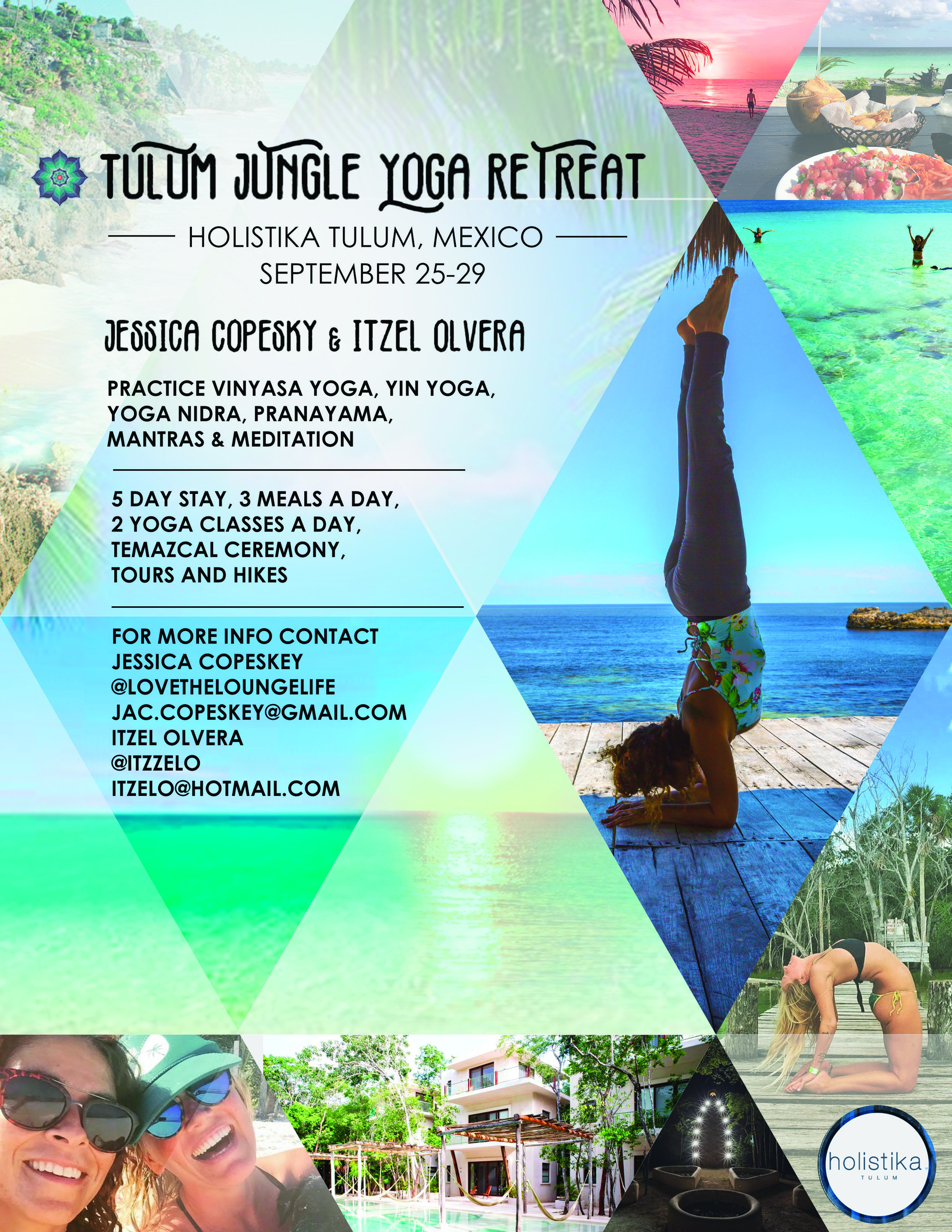 Tulum Jungle Yoga Retreat - september