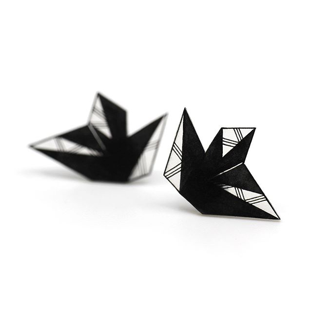 Custom black/transparent earrings for a lovely customer!  #design #jewelry #handmade #drawing #monochrome #earrings #studearrings #art #artanddesign #geometric #madeincanada #etsy #etsyshop #etsycanada #yyc #yycarts #yycdesign
