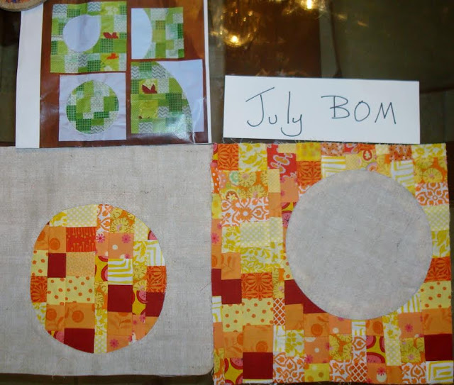 Shelly's sample blocks.